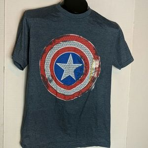 MARVEL NWT Captain America Tee